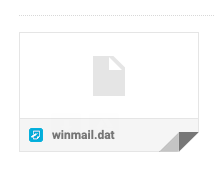 The WINMAIL.DAT from Office 365 Users issue